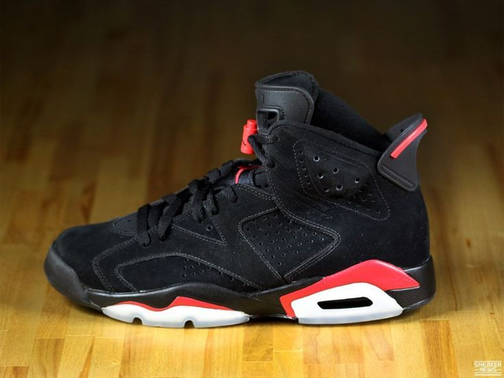 —Air Jordan VI Black/Varsity Red- My second favorite Jordans!