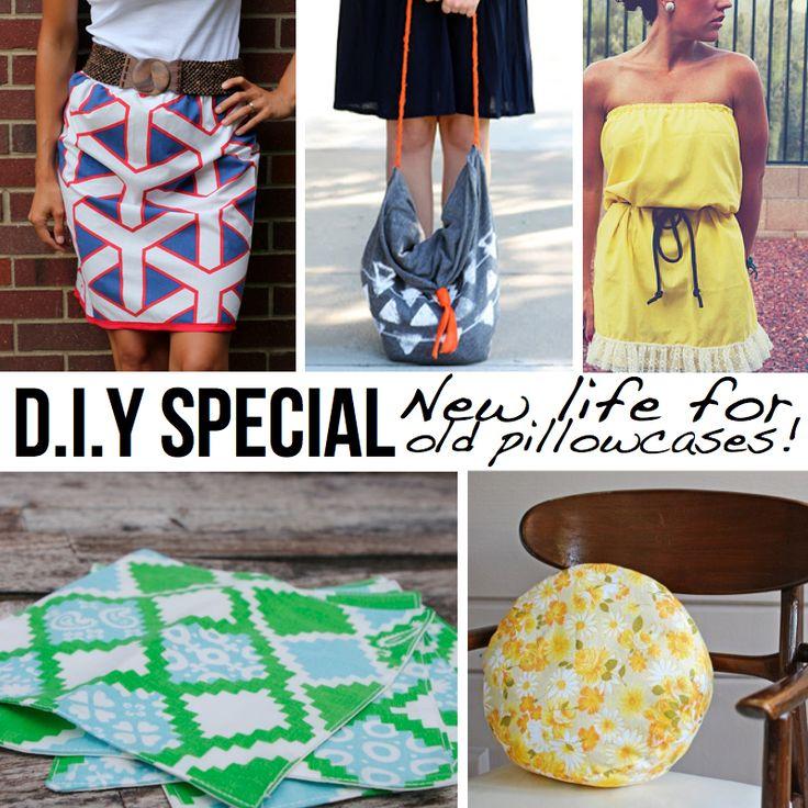 DIY Pillowcase Projects--dress skirt purse gift wrap etc. & Best 25+ Pillowcase bag ideas on Pinterest | Reusable shopping ... pillowsntoast.com