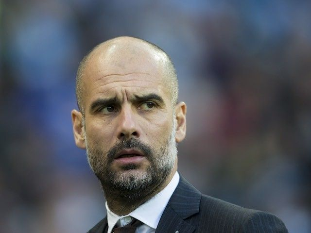 Manchester City's Pep Guardiola: 'We are nowhere near Manchester United status' #Manchester_United #Manchester_City #Football