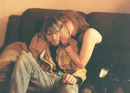 """Of the early days in their relationship, Kurt says, """"I just didn't have the time, I had so many things on my mind."""" Courtney continues, """"He had to write a hit record."""""""