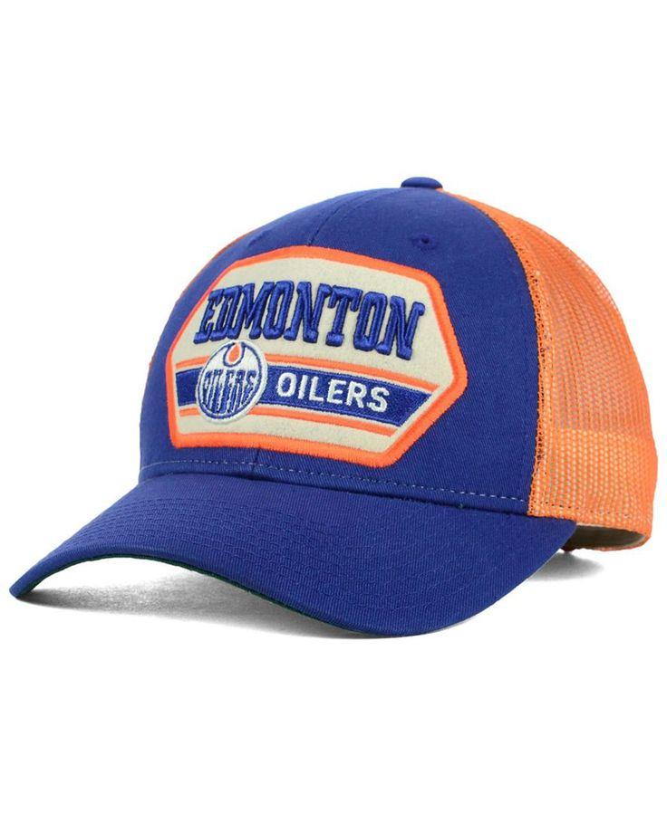 Ccm Edmonton Oilers Trucker 9forty Cap Sports Fan Shop By Lids Men Macy S Edmonton Oilers Oilers Sports Fan Shop