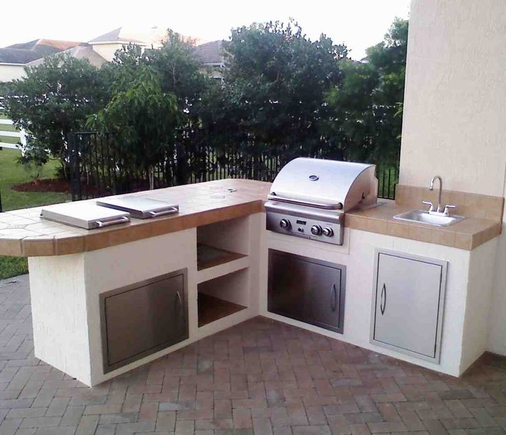Prefab Outdoor Kitchen Island: Best 25+ Modular Outdoor Kitchens Ideas On Pinterest