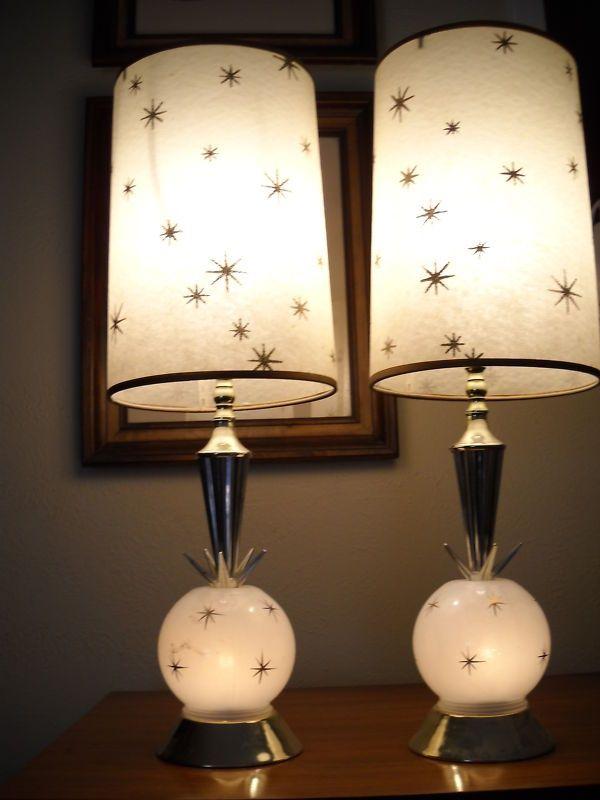 Mid Century Eames Era Lamps