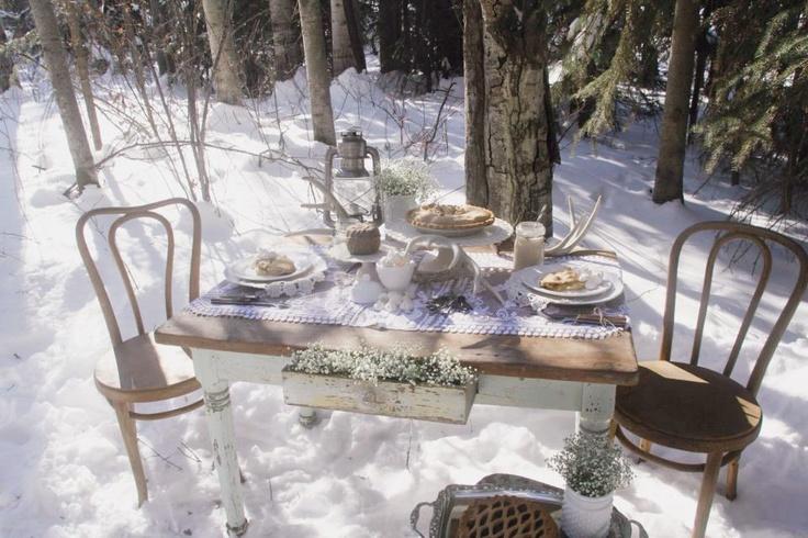 winter rustic shoot