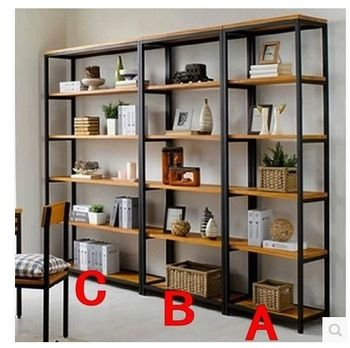 estanterias de madera y hierro - Buscar con Google