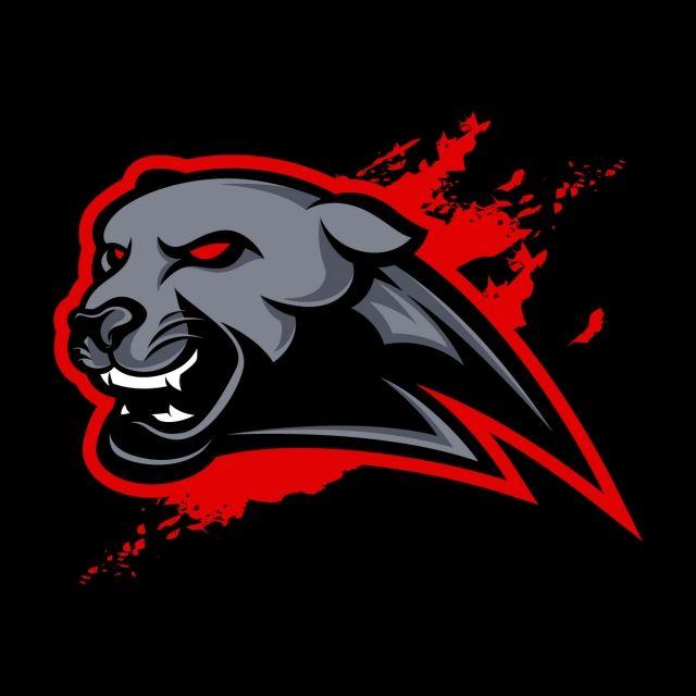 Panther Mascot Logo Logo Design Art Graphic Design Background Templates Mascot