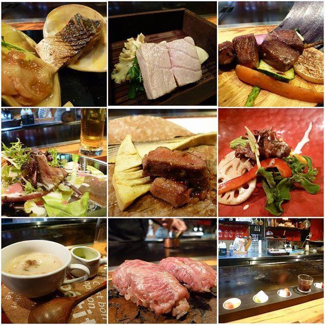(改めて、素敵な方過ぎっ♥ポッ) 学ばせて頂く所が沢山で感動していたら… お写真に入りきれない程の御食事達は、どれも美味しいし✨  トキメキすら感じる程嬉しい時間…ありがとうございました♥ガンバル  #Japan #福岡 #鬼灯 #business #dinner #course #delicious #美味しい #創作 #鉄板焼き #肉 #魚 #happy #times #thanks #love #photo #goodnight