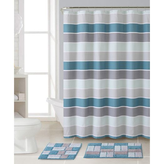 Youll Love The Cinder 3 Piece Shower Curtain Set At AllModern