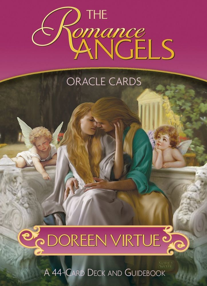 A 44 card deck and guidebook the romance angels oracle