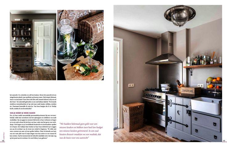 Schitterende reportage in het magazine Landelijk Wonen Fotografie: Stan Koolen Productie, styling en tekst: Emmy van Dantzig