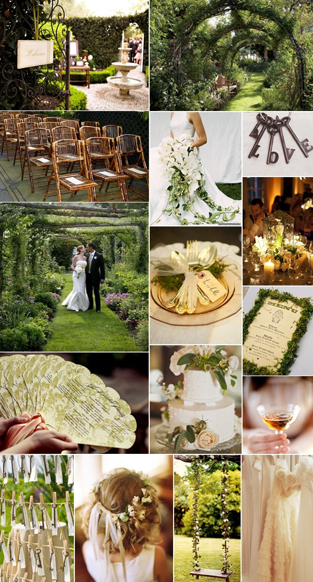 WEDDINGS/EVENTS - Secret Garden Wedding Inspiration Board - Merriment Style Blog - Merriment - A Celebration of Style and Substance