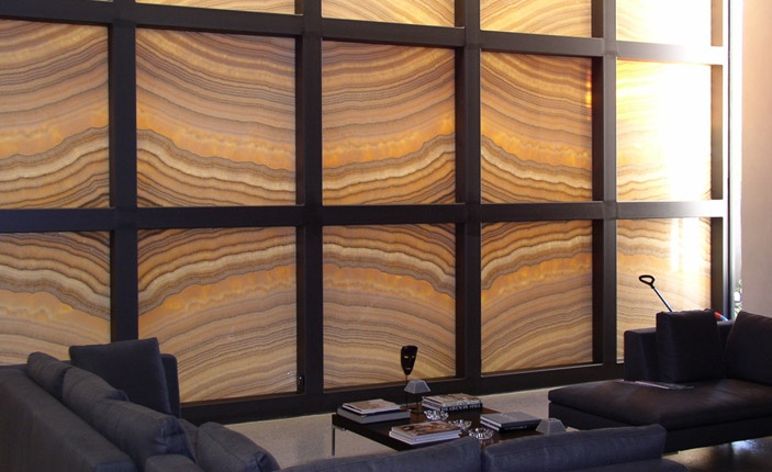 Bronzeworks - Private Residence - using bronze panels