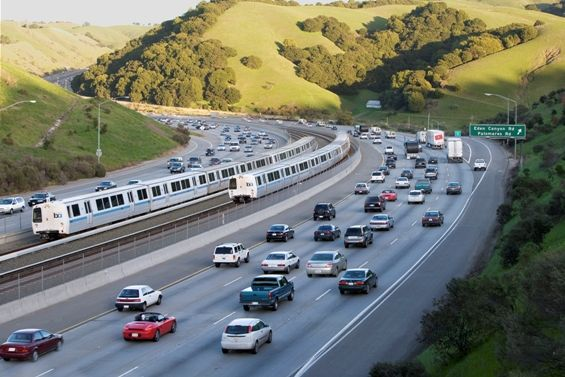 Continuing the trend of sustainability, Bay Area Rapid Transit (BART) has began undergoing a new train car project. Working with Bombardier, BART is working towards a life cycle approach to reduce energy use, pollution and costs. From material conservation, seating, to Marmoleum flooring composed of raw materials... the new train cars strive to promote sustainability. With just one commuter using BART each weekday instead of their own vehicles, over 300 gallons of gas can be saved in a year.