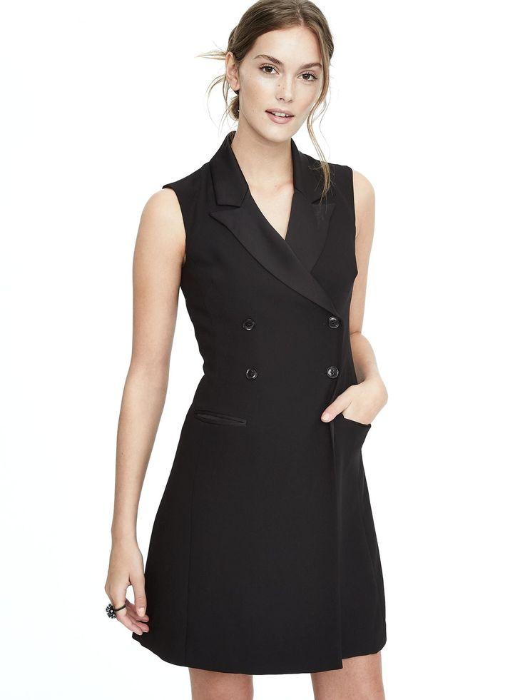 Tuxedo Dress - $148