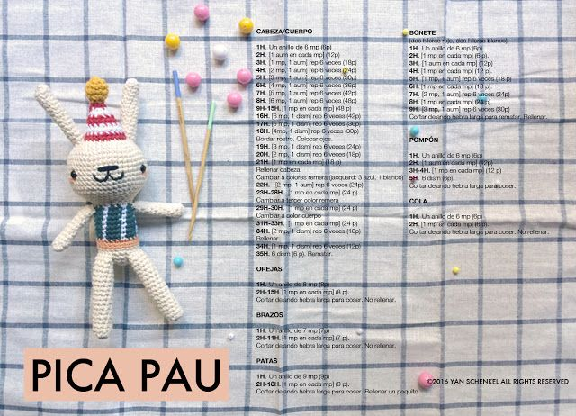 pica-pau: patrón