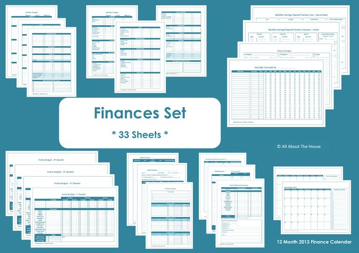 Financial+Binder+Printables