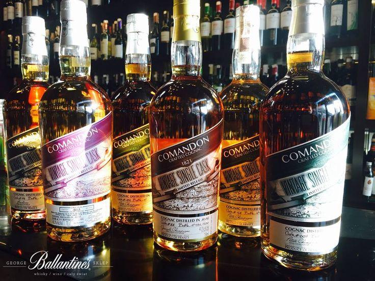 Comandon Single Cask Cognac  #comandon #singlecask #single #cask #cognac #france #original #sklepballantines