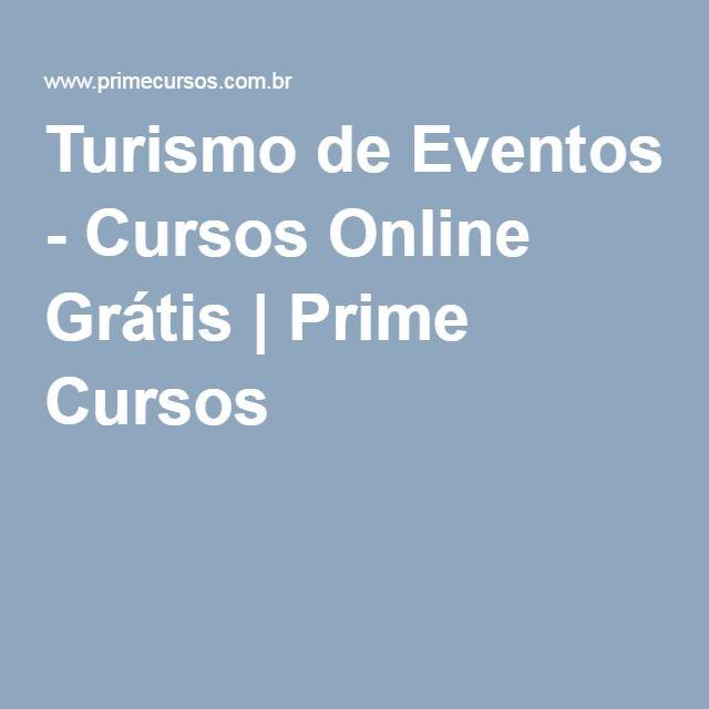Turismo de Eventos - Cursos Online Grátis | Prime Cursos