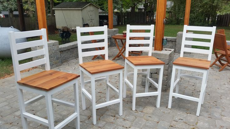 Cedar Pub chairs | Do It Yourself Home Projects from Ana White