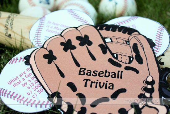 Home Run World Series Date #thedatingdivas (Has a cute baseball trivia printable)