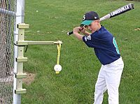 Slugmaster Baseball Hitting and Batting Equipment, Baseball Training Aids
