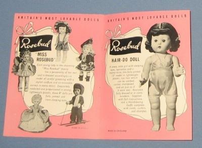 1950s Miss Rosebud Fairy Hard Plastic Doll in Original Box - NO RESERVE!! | eBay