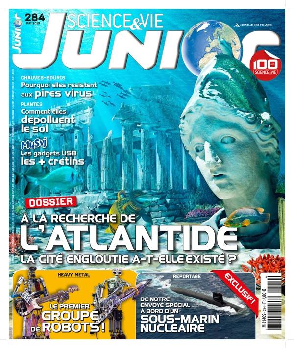 Sciences et vie junior n° 284, mai 2013