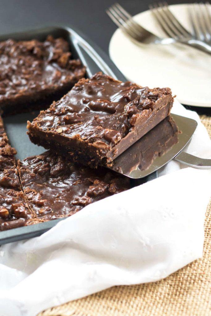 Super moist chocolate sheet cake recipe