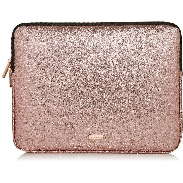 "Rose Gold Dita 13"" Laptop Case ($31) ❤ liked on Polyvore featuring accessories, tech accessories, laptop sleeve cases and laptop cases"