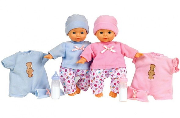 Pretty cute baby dolls and accessories