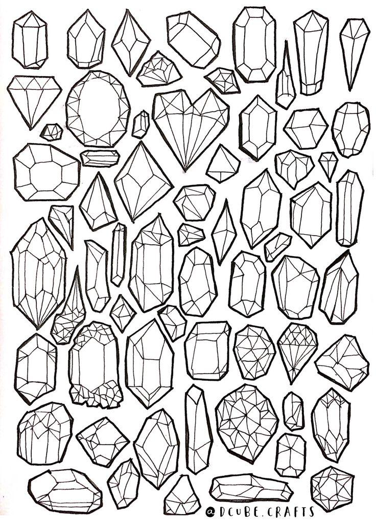 специалисту картинки срисовать кристаллы скумбрии сливочного сыра