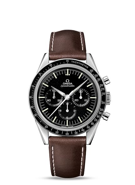 """A Moonwatch. If there's a single watch that everyone should own, it's an Omega Speedmaster Pro a/k/a the """"moonwatch."""" This limited run is my favorite expression of the style."""