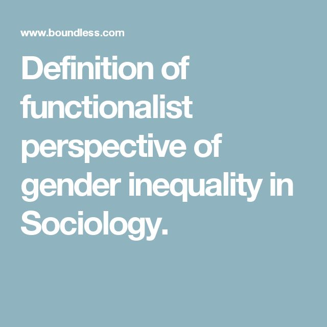sociological views on gender selection This is the view that will be examined here: in particular, the argument  sex  selection 'for social reasons' (which is banned by the hfea) is.
