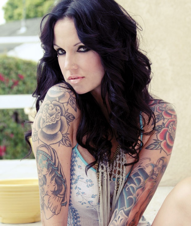 Tattoo girl and natalie colt | Hot pictures)