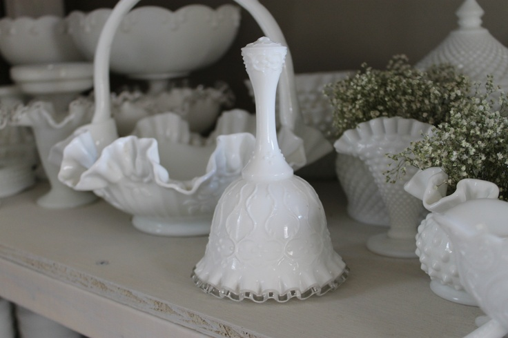 Pretty Fenton Bell, place it on a table at your wedding for people to ring for the bride and groom to kiss