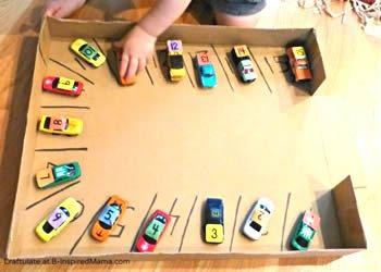 Rangés des voitures