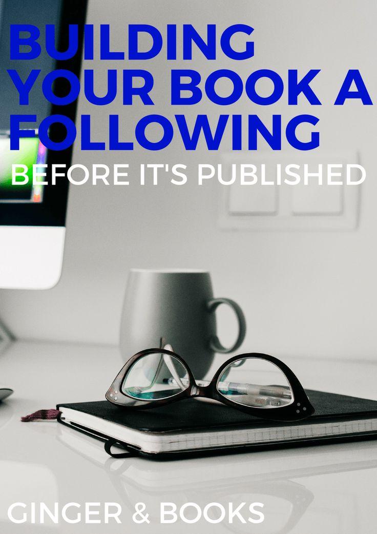 building a book following