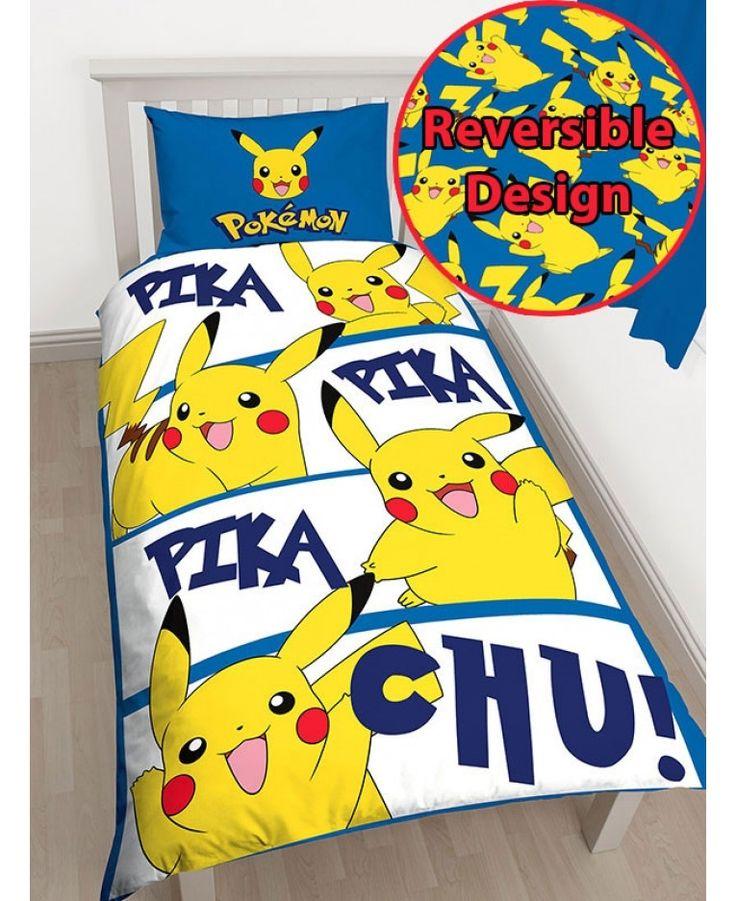 Pokemon Pikachu PREORDER Single Doona Quilt Cover Set