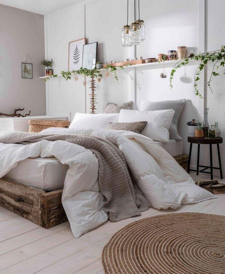 ✔58 How do I create a cozy and cute farmhouse bedroom? 22 #farmhousedecor #farmho …