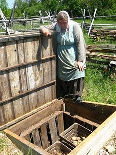 Awesome idea ~ A root cellar without needing a basement or having to build a separate building!