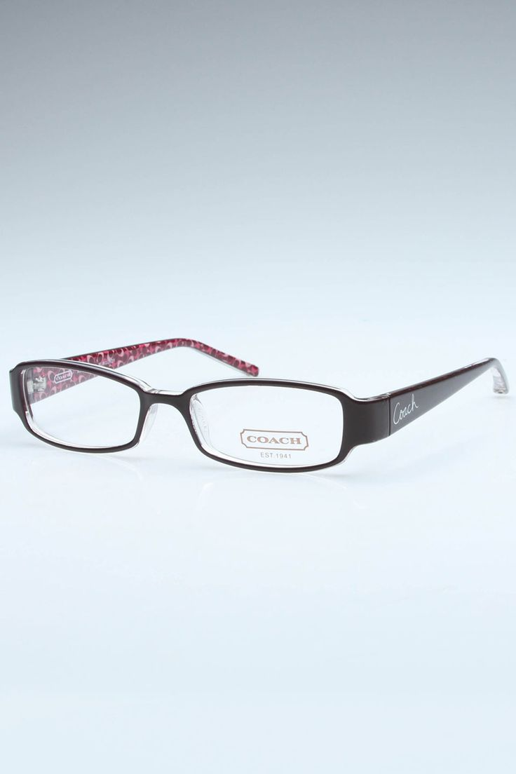 Coach Avery Glasses In Burgundy - Beyond the Rack. I want glasses like these!