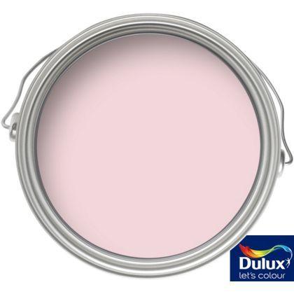 Dulux Pink Sorbet - Matt Emulsion Paint - 2.5L