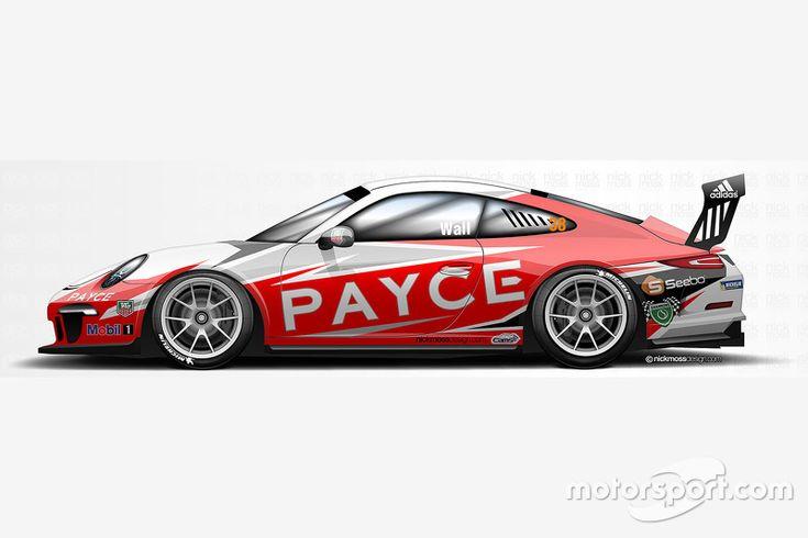 David Wall livery Porsche Rennsport Australia