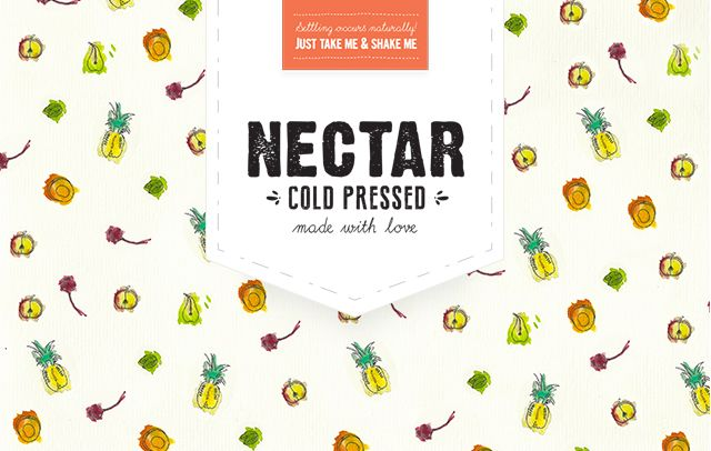 Nectar Juices Branding by BlueMelon Design