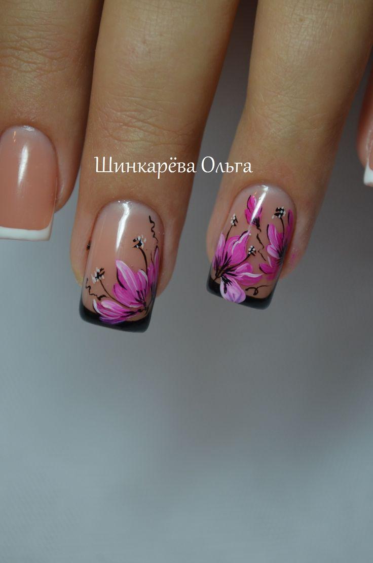 ногти,мода,ноготочки,цветы