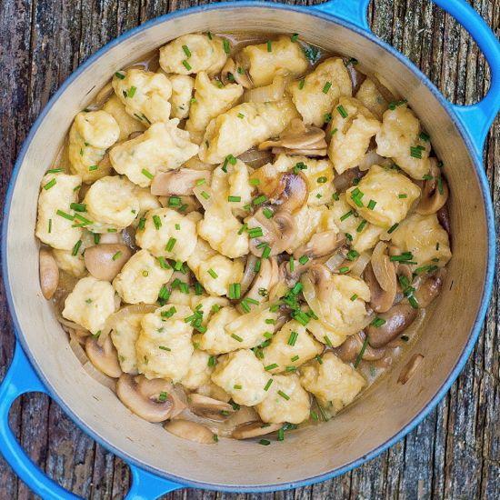 Spaetzle pasta recipes
