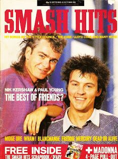 Smash Hits Magazine was one a favourite for 80s teens.