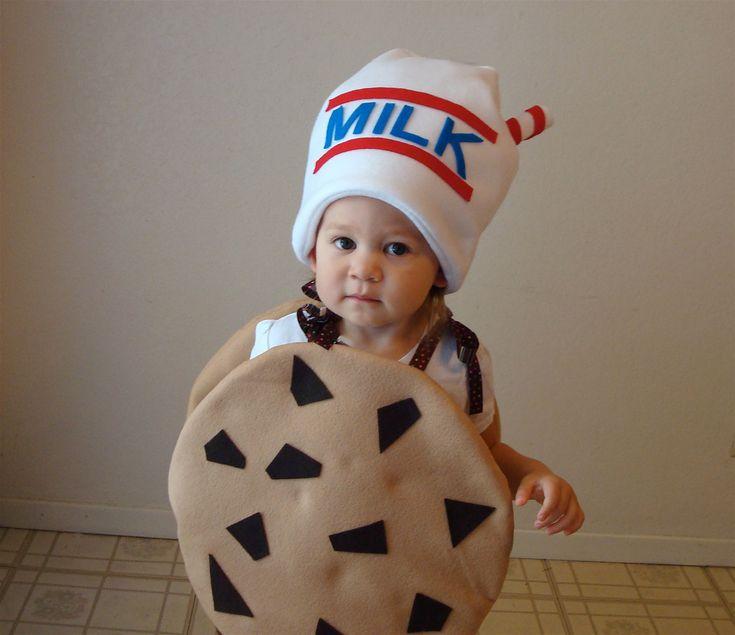 Milk & cookies halloween costume.