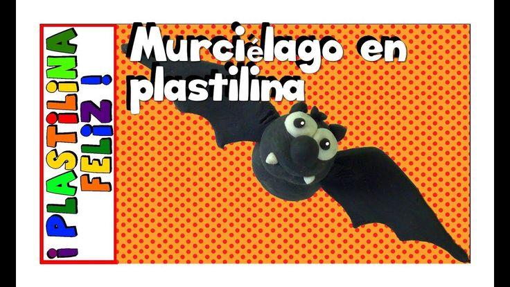 Murciélago en plastilina