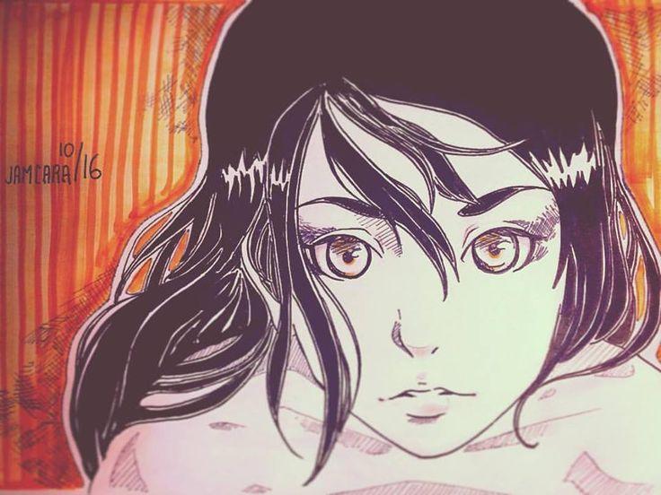 ilustration bye jamcara  #anime #manga #illustration #girl